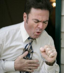 Остановка приступа кашля